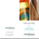 Einladungskarte Vernissage im Immobilienbüro am Sudhaus Ulm