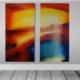 christinART Ulm _Impression Sonnenlicht (Acrylmalerei)