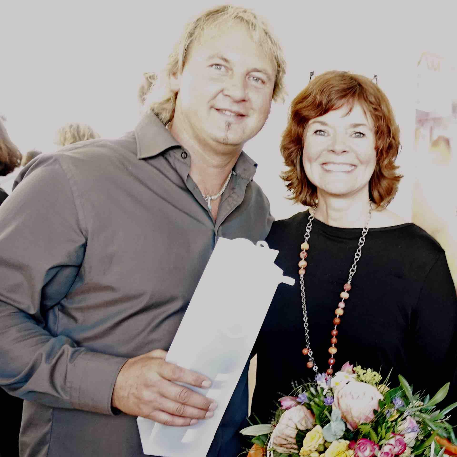 christinart - Vernissage mit Uwe Köhle