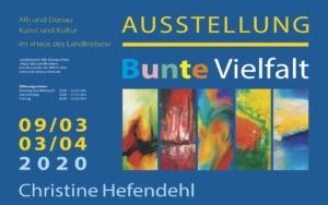 christinART Ulm Ausstellung im Landratsamt Ulm